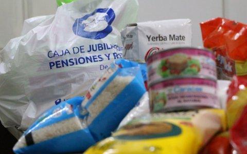 La Caja Municipal de Jubilaciones entregará nuevamente bolsones de alimentos