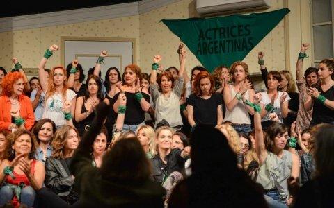 Actrices Argentinas se juntan para hacer una nueva denuncia por acoso sexual