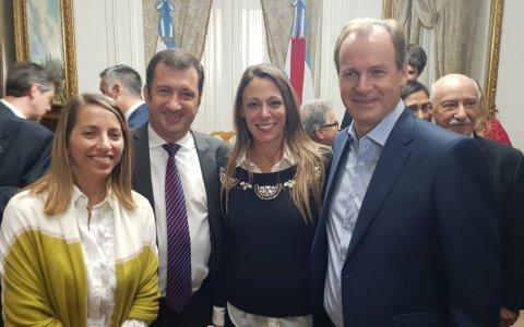 """Gualeguaychú participó del lanzamiento del """"Programa de Eficiencia Energética"""""""