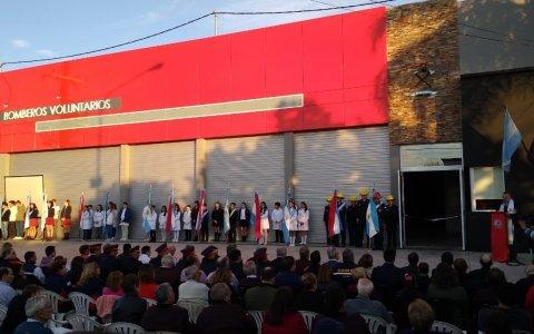 Se inauguró el nuevo Cuartel de Bomberos Voluntarios de Urdinarrain