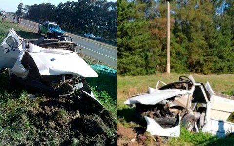 Murió un hombre que se accidentó en Ruta 14