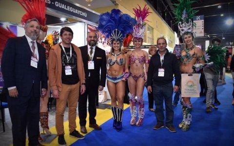 El Carnaval se destaca en la Feria Internacional de Turismo