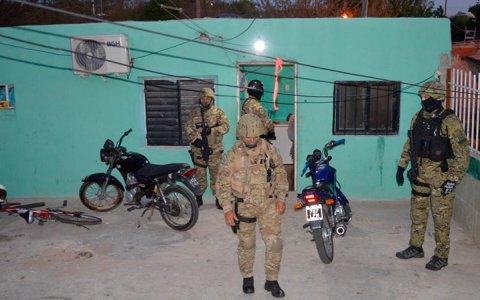 La policía realizó cuatro allanamientos antinarcos pero no hubo detenidos