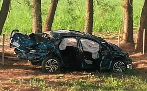 Menor al volante protagonizó un fatal accidente