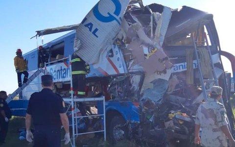 El Hospital Centenario informó el estado de los accidentados en Ruta 14