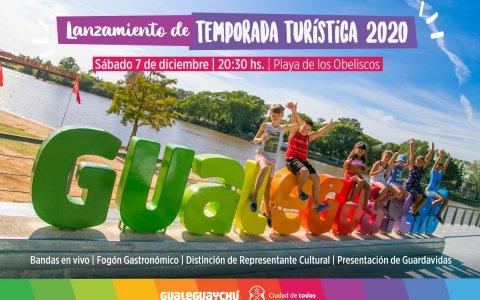 Gualeguaychú lanza la temporada turística este Sábado