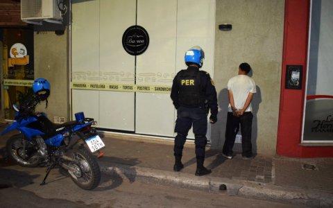 Insólito intento de robo en calle 25 de Mayo