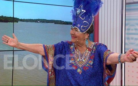 A los 81 años cumplirá el sueño de desfilar en el Carnaval de Gualeguaychú