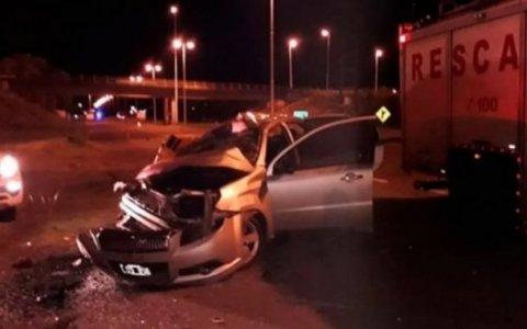 Ruta 14: Fallecieron dos mujeres y una niña tras violento accidente