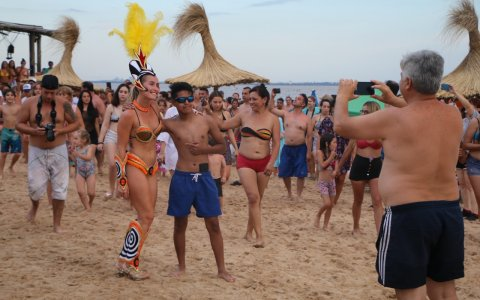 Marí Marí dio un gran show en Ñandubaysal