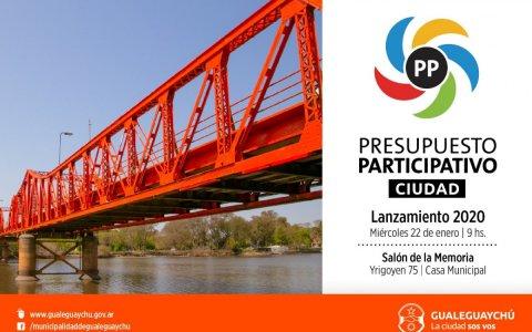 Presupuesto Participativo: Mirá los 9 proyectos para Gualeguaychú