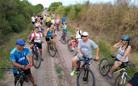 El Turismo en Bicicleta es un éxito en Aldea San Antonio