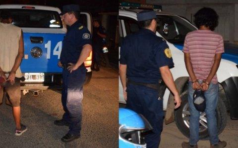 Mientras detenían a dos delincuentes, familiar agredió a una policía
