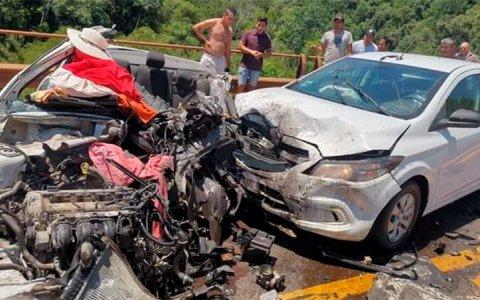 Tres muertos tras impresionante accidente en Ruta 12