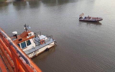 Todavía no se estableció la identidad del hombre que se arrojó al Río Gualeguaychú