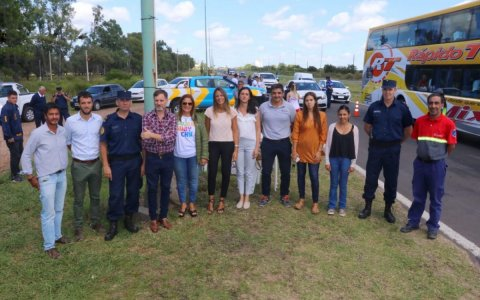 Gualeguaychú le dio la bienvenida a los turistas