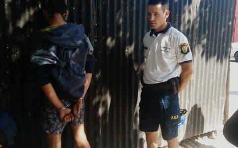 Detenido por robo en calle San Martín
