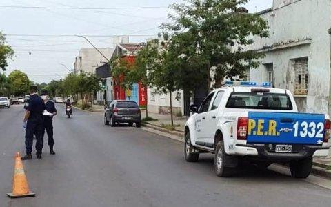 Dos gualeguaychuenses detenidos por violar sistemáticamente la cuarentena