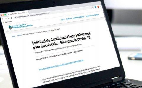 Cuarentena: Nuevo trámite online para circular con justificación
