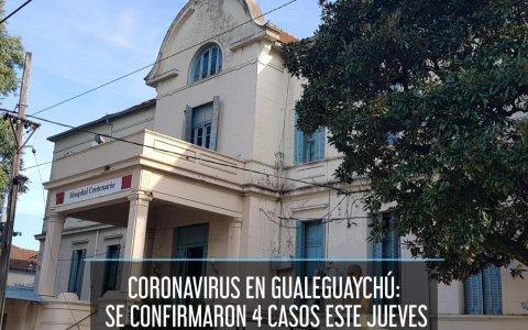 Coronavirus en Gualeguaychú: Se confirmaron 4 casos este jueves