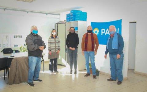 PAMI Gualeguaychú entregó subsidios a los Centros de Jubilados