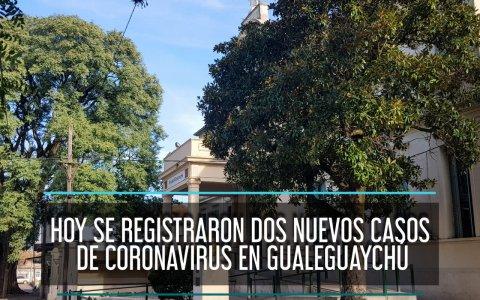 Hoy se registraron dos nuevos casos de Coronavirus en Gualeguaychú