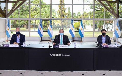 El Presidente confirmó la continuidad de los programas IFE y ATP