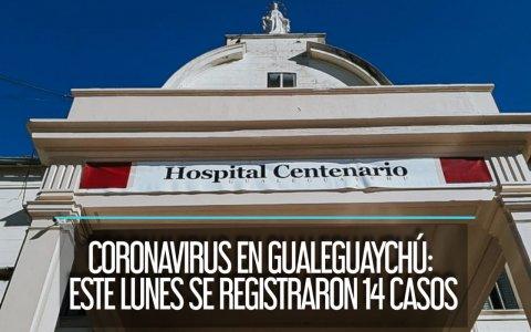 Coronavirus en Gualeguaychú: Este lunes se registraron 14 casos