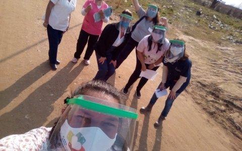 Municipales recorren los barrios de Gualeguaychú detectando vecinos sintomáticos