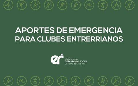 Provincia brindará ayuda económica de emergencia para clubes de barrio