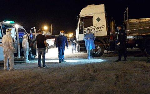 Larroque: Interceptan a un camionero positivo de Coronavirus