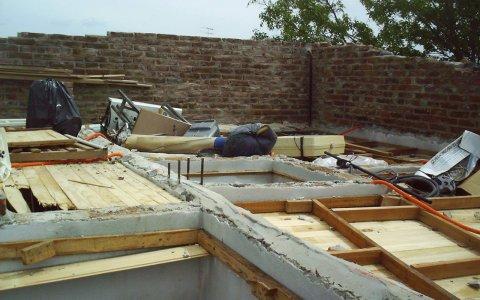 El temporal de la madrugada causó algunos daños en Gualeguaychú