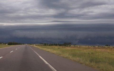 Cesó el alerta por tormentas fuertes para el sur entrerriano