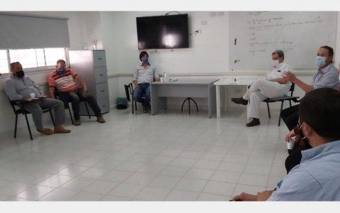 La Dirección del Hospital se reunió con los gremios de trabajadores