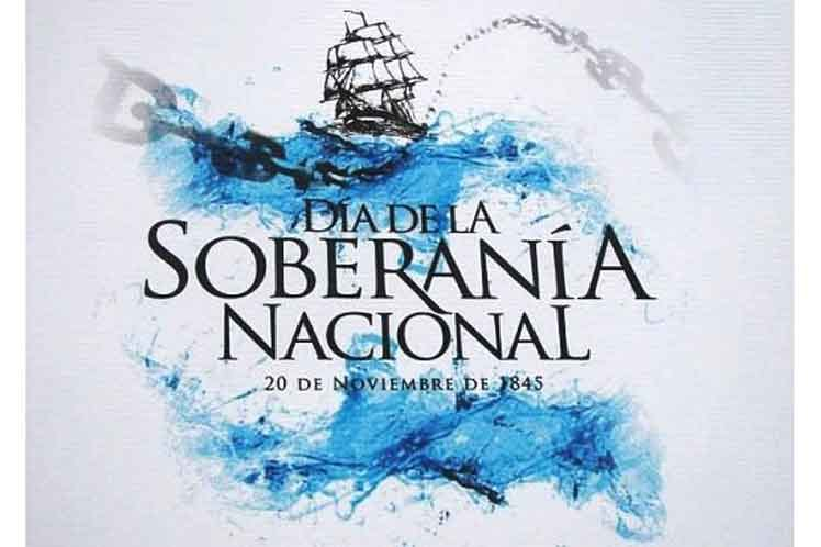 Argentina celebra el Día de la Soberanía Nacional