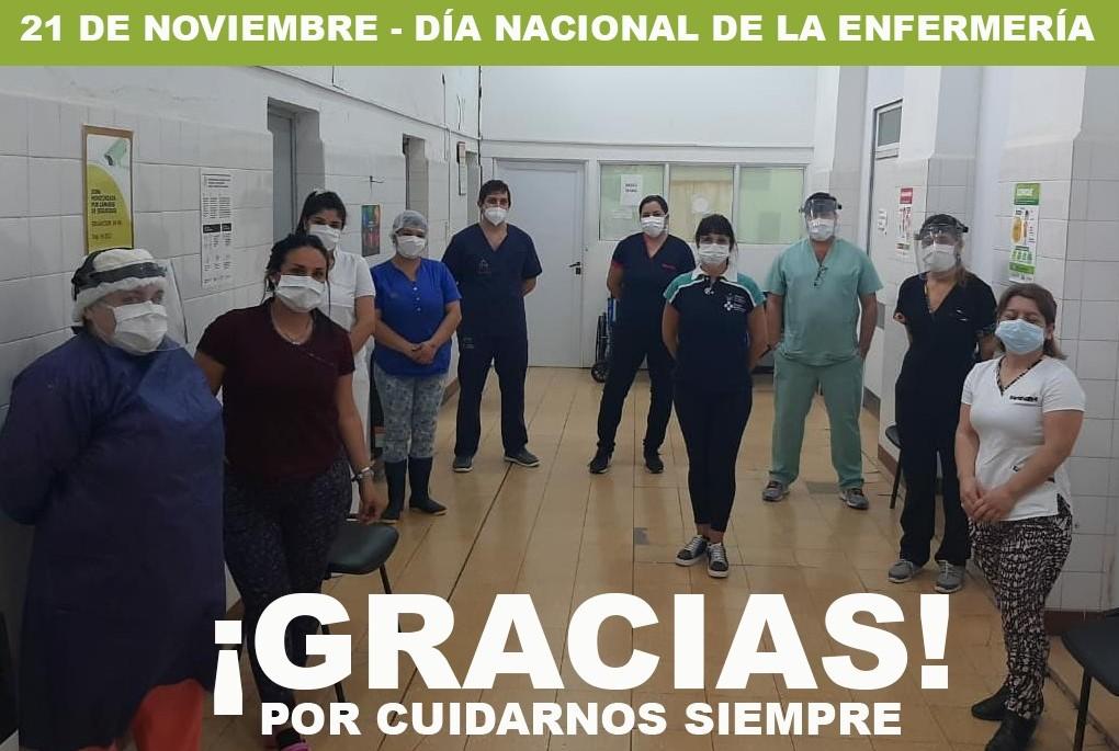 Día de la Enfermería: El Hospital destacó a sus enfermeros