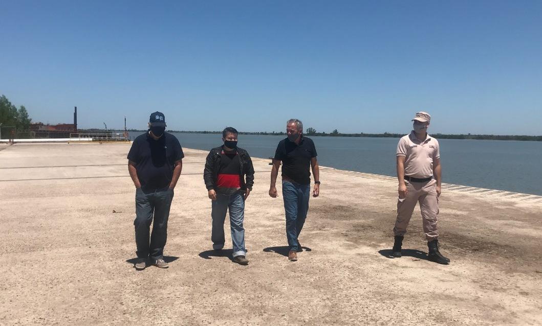 Exitosa auditoría al Puerto Ibicuy