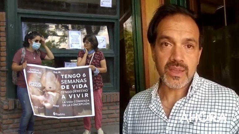 El médico que se negó a realizar aborto legal se presentó en el Ministerio de Salud