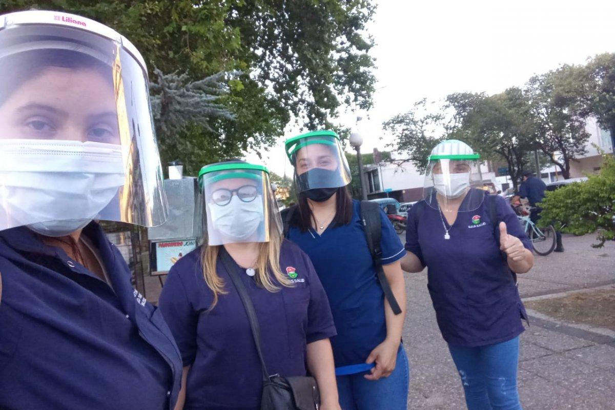 Continúa la detección temprana de Covid-19 en los barrios de Gualeguaychú
