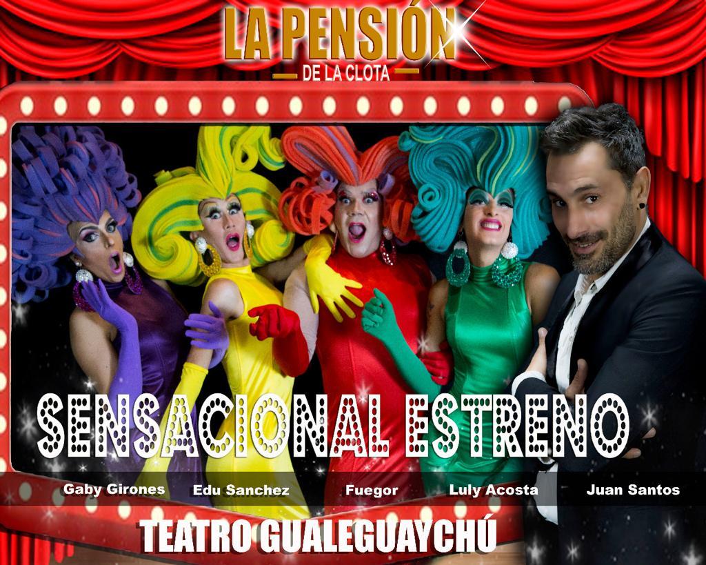 """El Teatro Gualeguaychú vuelve con la obra """"La Pensión de la Clota"""""""