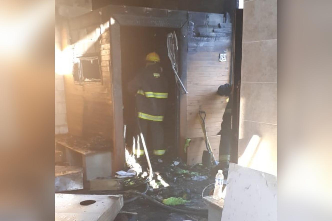 Se incendió el sauna de las Termas del Guaychú