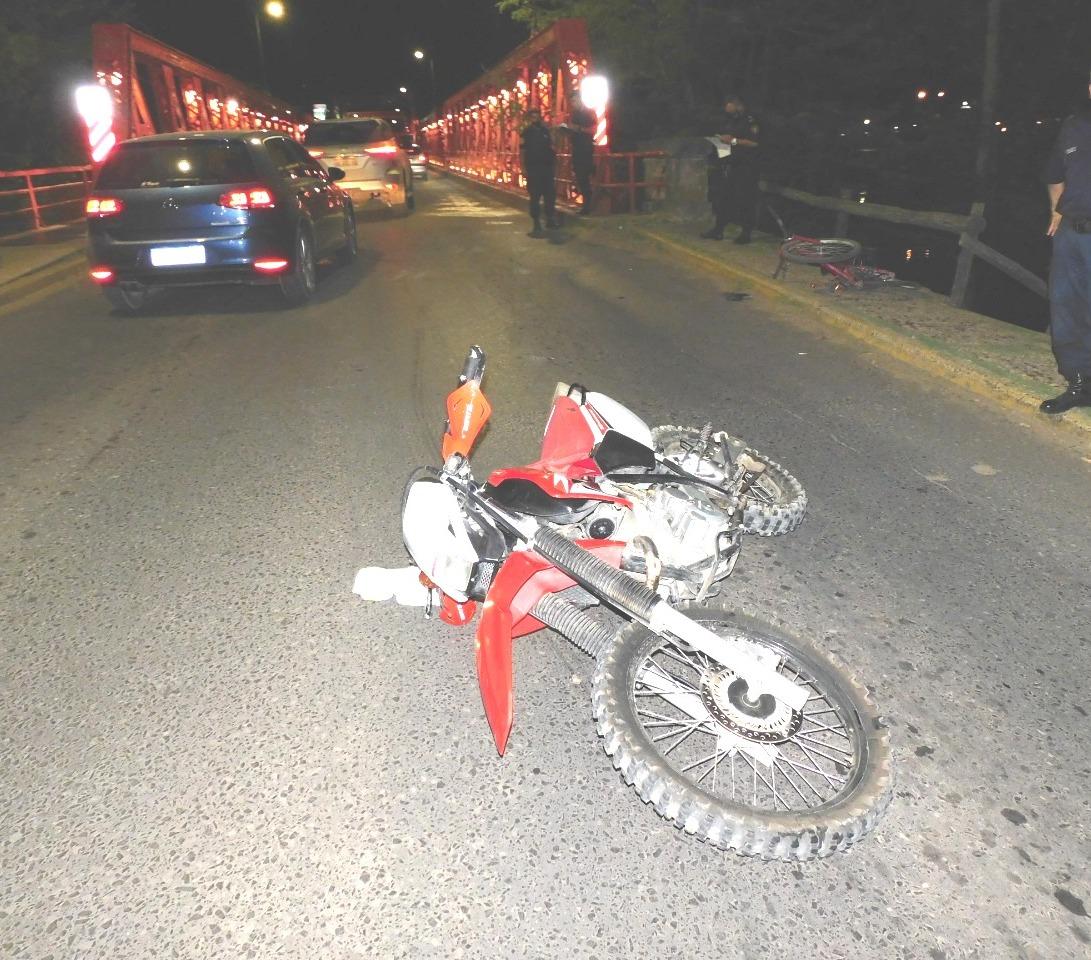 """Accidente en la cabecera del Puente """"Naranja"""""""