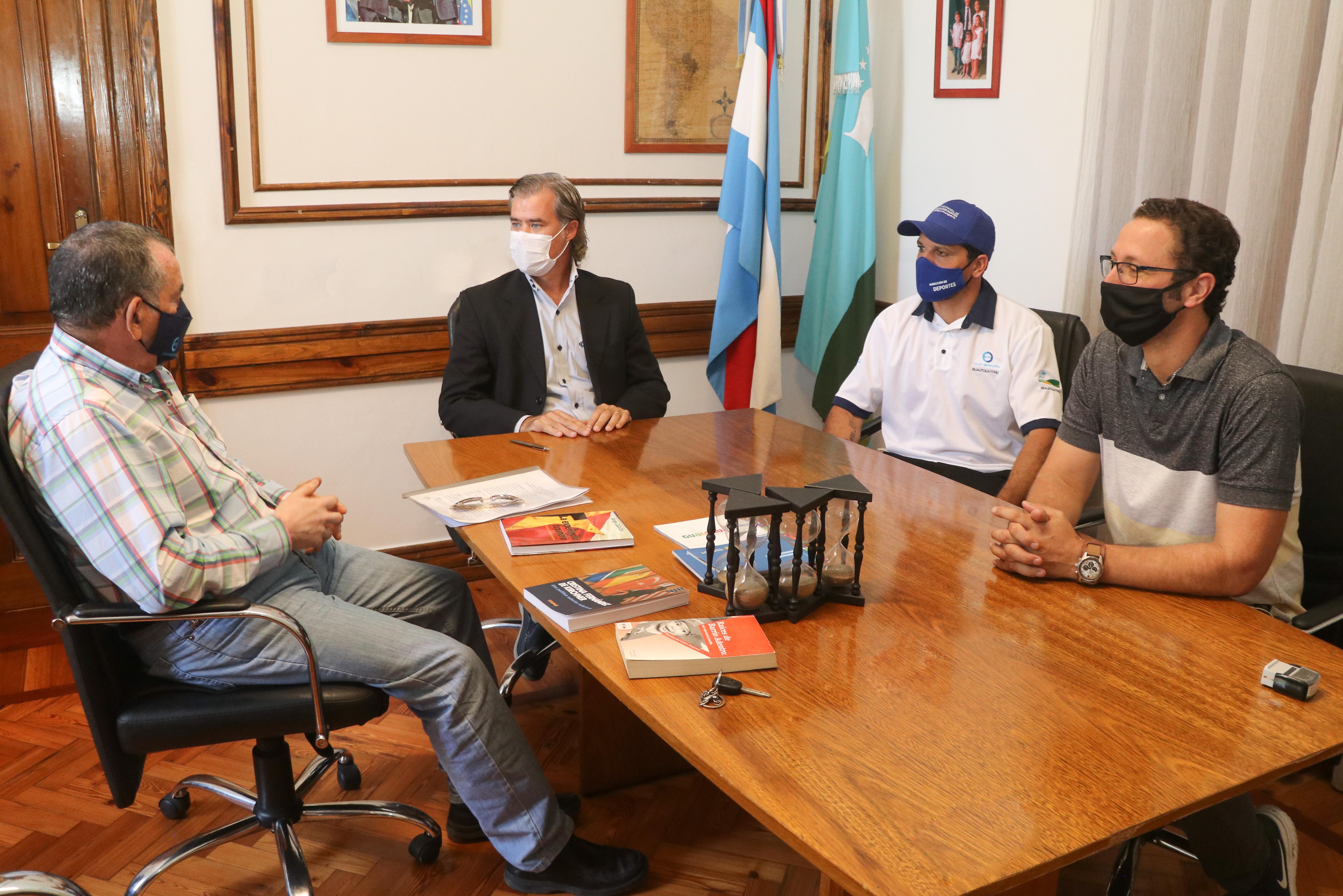 El Municipio y la Caja de Jubilaciones firmaron un convenio de ayuda recíproca