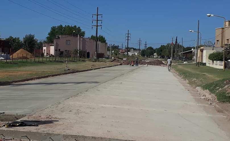 Avanza la pavimentación de Boulevard Pedro Jurado