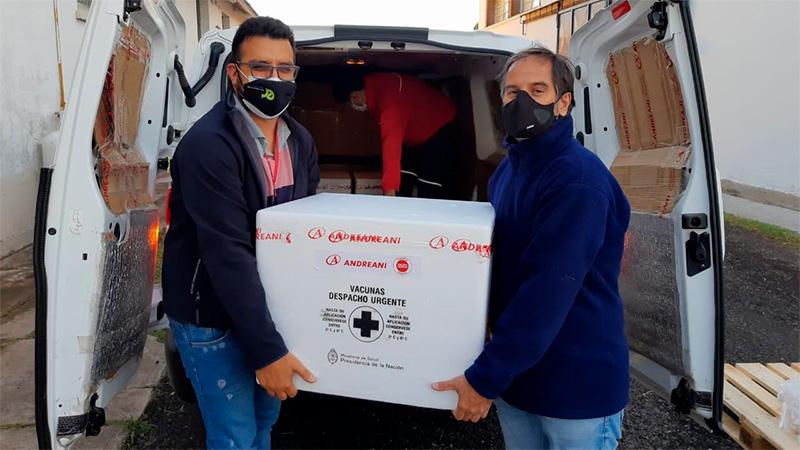 Llegaron 12.500 vacunas chinas a Entre Ríos