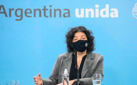 """""""La segunda ola ya es un hecho"""" afirmó la ministra de Salud, Carla Vizzotti"""
