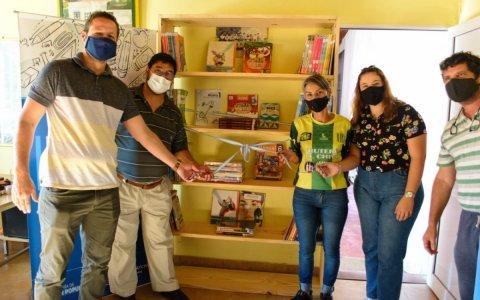 """Se inauguró la primera """"Biblioteca Popular Barrial"""" de Gualeguaychú"""