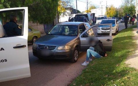 La policía de Gualeguaychú secuestró marihuana a un joven