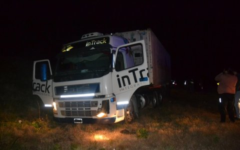 Ruta 14: Falleció camionero tras accidente