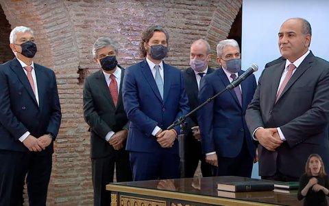Alberto Fernández le tomó juramento a los nuevos ministros